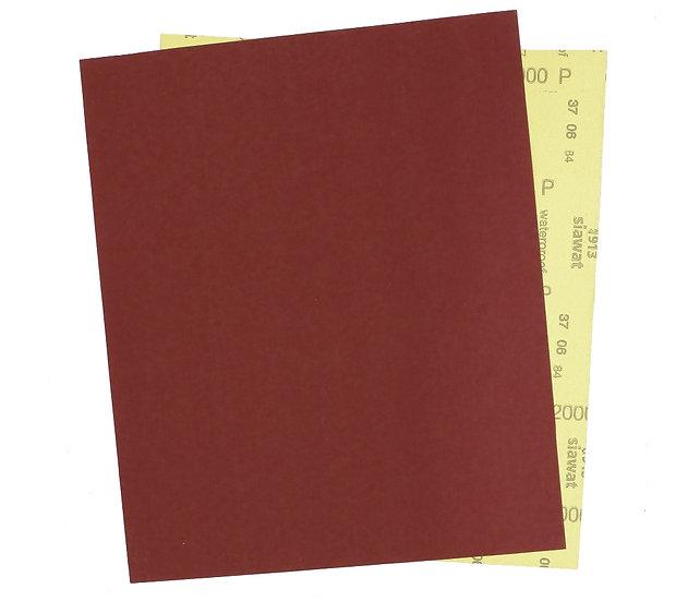 Водостойкая наждачная бумага Sia Р2000, 230х280