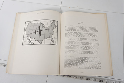 1940s Air Navigation Book - Part Two Introduction To Navigation