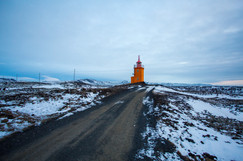 Saxholsbjarg Lighthouse Iceland