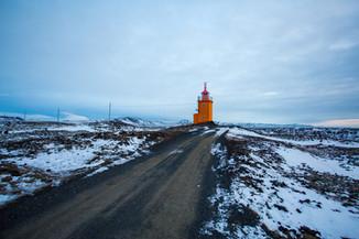 Saxholsbjarg Lighthouse Iceland