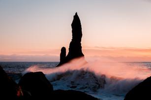 Black beach Iceland