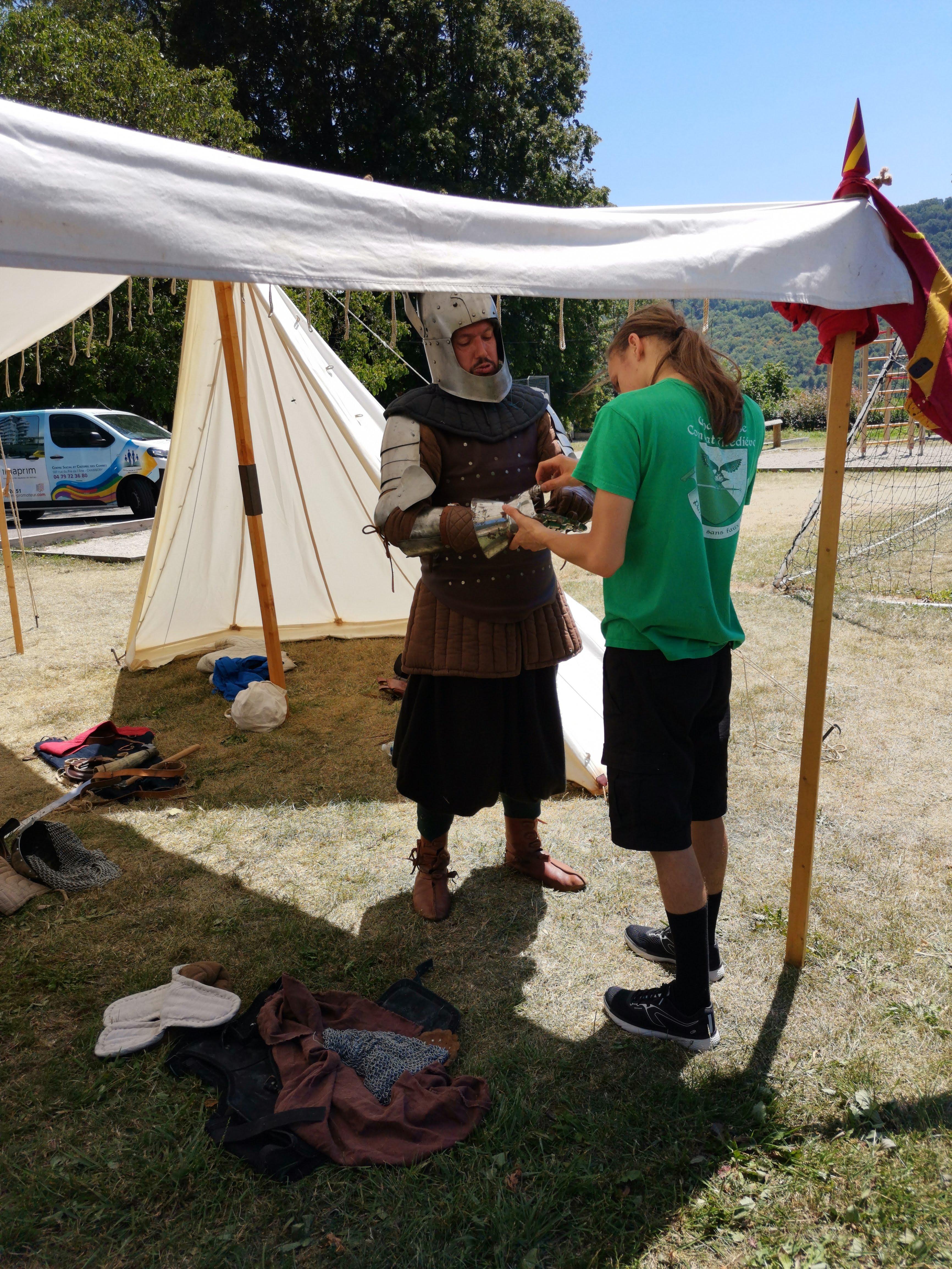 Atelier pédagogique médiéval