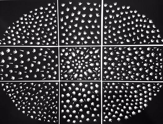 Constellations, artwork Hannah Roach
