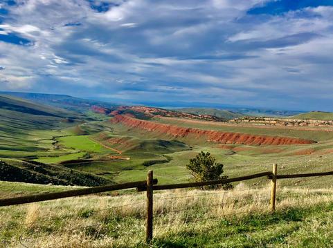 Red Canyon                                (near Lander, Wyoming)