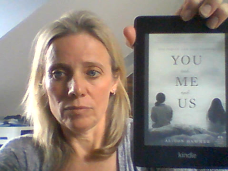 "Leanne's Book Time Vlog: ""You and Me and Us"" by Alison Hammer"