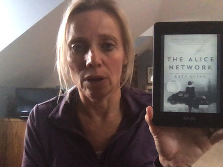 """Leanne's Book Time Vlog:  """"The Alice Network"""" by Kate Quinn"""
