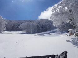 winterlandschap op de Monte Catria
