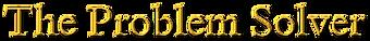 logo, branding - The Problem Solver, GOL