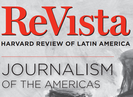 reVista - Harvard Review of Latin America