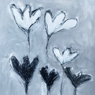 Flowers B&W 39