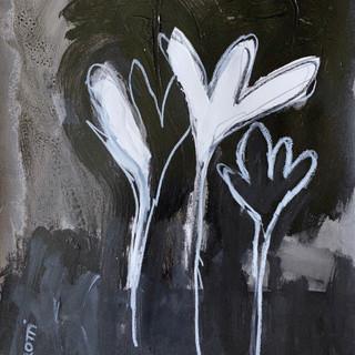 Flowers B&W 4