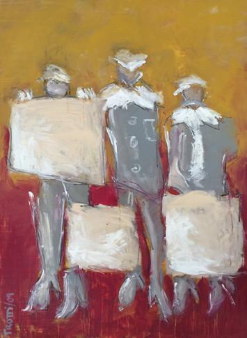 Three matadors