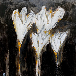 Flowers B&W 7