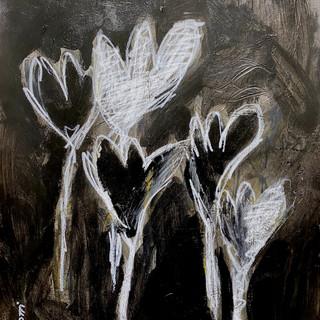 Flowers B&W 1