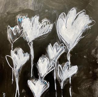 Flowers B&W 3