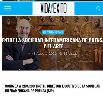 ENTRE LA SOCIEDAD INTERAMERICANA DE PRENSA Y EL ARTE