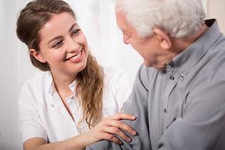 Home health care, caregivers providing h