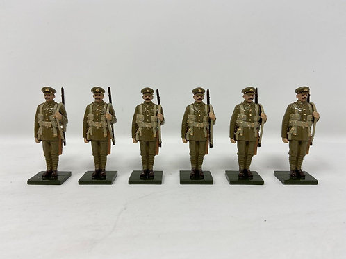 OTF 1 - WWI Troops in Forage Caps at Attention