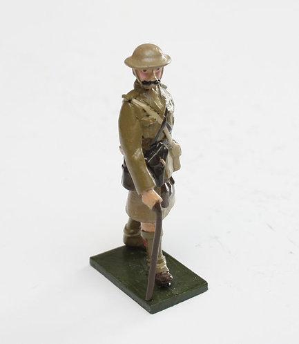 Fig 62, WWI Highland Regt. Officer.