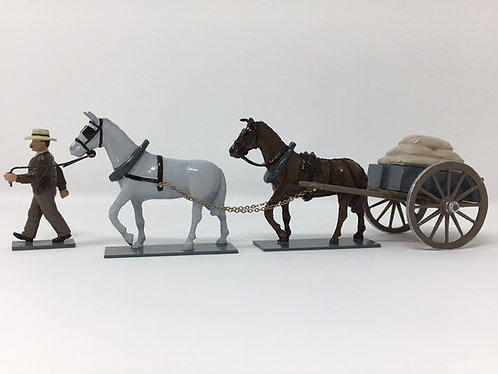 Set 210 - Mule Cart with payload