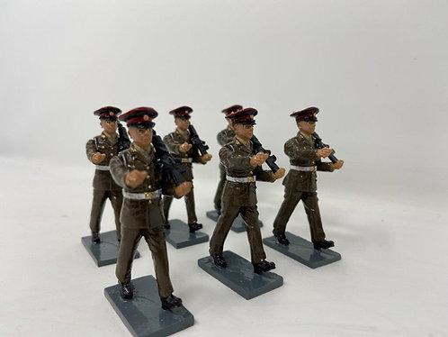 Set 245 - Royal Gibraltar Regt. in Khaki