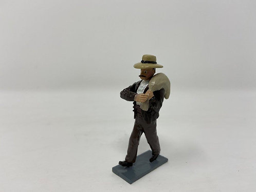 Fig 219 - GDF figure carrying sack