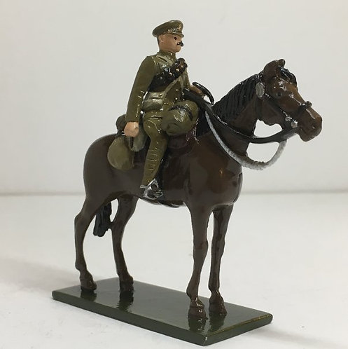Fig 179, WW1 Gunner, Mounted