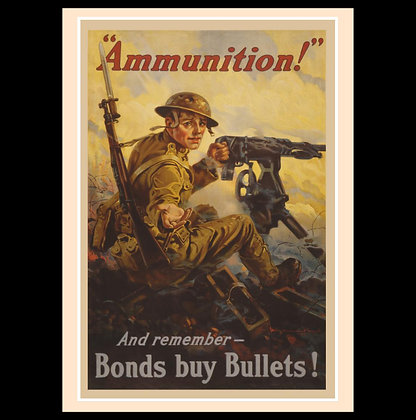 Posters of the Great War - American Posters Set 1