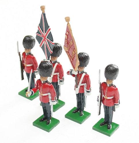 Set 41, Scots Guards Colour Party at attention