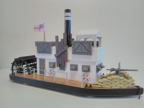 BY03 - Armoured Paddle Steamer