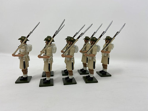 Set 133 - Australian Troops, Desert Campaign
