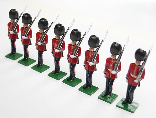 Set 113, Scots Guards marking time.