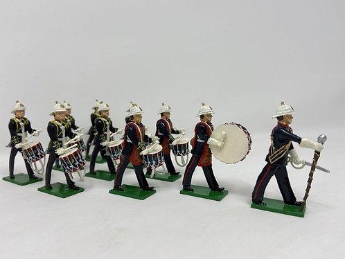 Set 111 - Royal Marines Drum Corps at march