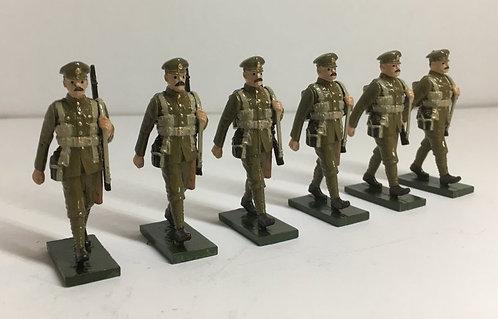 OTF 2, WW1 Troops in Forage Cap, Marching