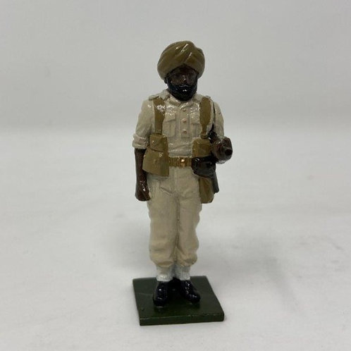 Fig 136 - Sikh Officer, standing