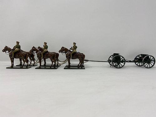 Set 57 - WWI Gun Team (Green Gun)