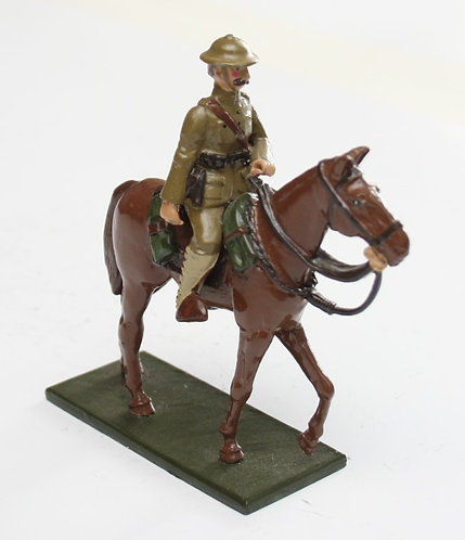 Fig 60, WWI Mounted US Officer