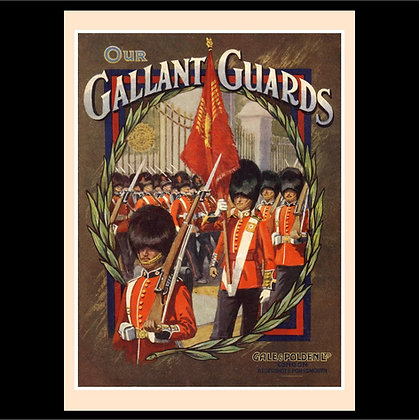 The Brigade of Guards Greeting Card Set