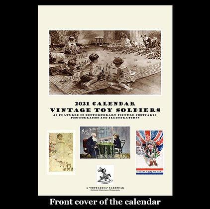2021 Calendar - Vintage Toy Soldiers