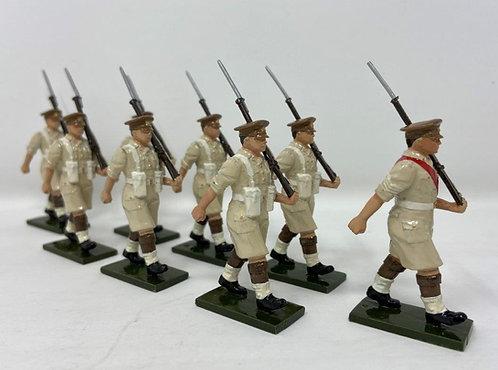 Set 122 - Scots Guards Desert Campaign at March