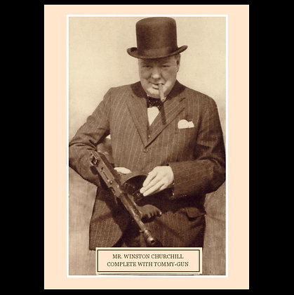 Winston Churchill greeting card set