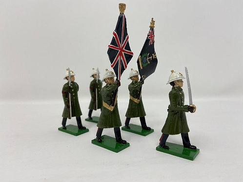 Set 42 - Royal Marines Colour Party in Greatcoats