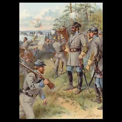 American Civil War Greeting Cards Set 1
