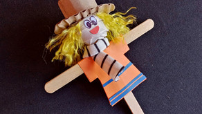 Build a Scarecrow Day; Here's How to Make a Popsicle Scarecrow