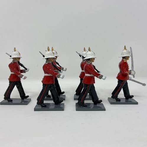 Set 222 - GDF Regiment at March with SLR