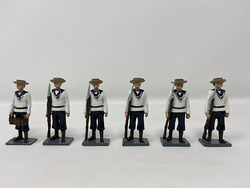 Late 1800's Naval Figures (6)