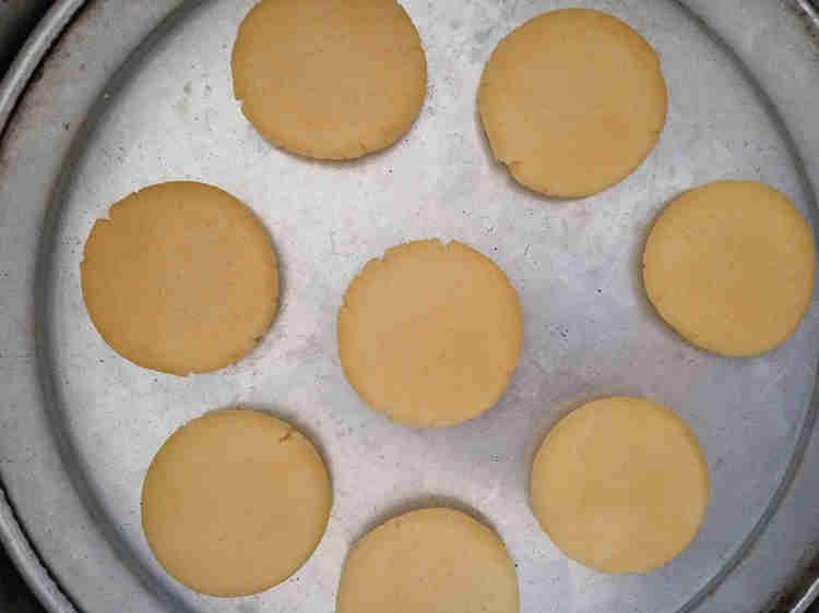 3 ingredient butter cookies recipe