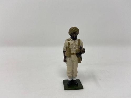 Fig 136 - Sikh Officer, standing