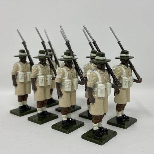 Set 129 - Gurkha Rifles at Attention
