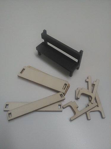 BYA35 - Small Bench, pair